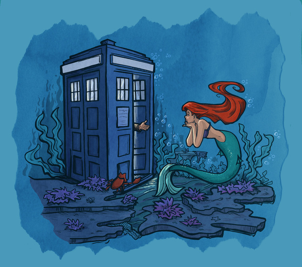 Little Mermaid Doctor Who