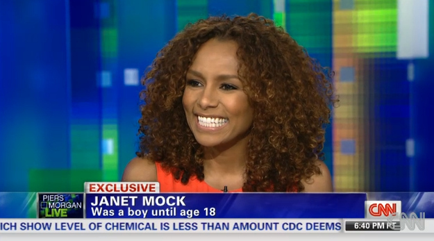 Janet Mock on Piers Morgan discussing Redefining Realness