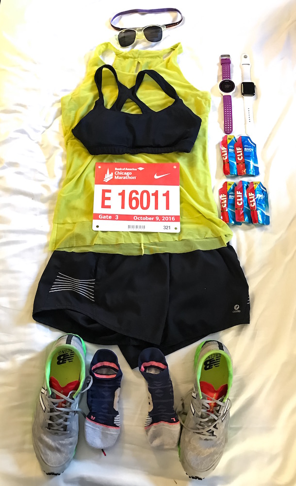 Flat Amy 2016 Chicago Marathon