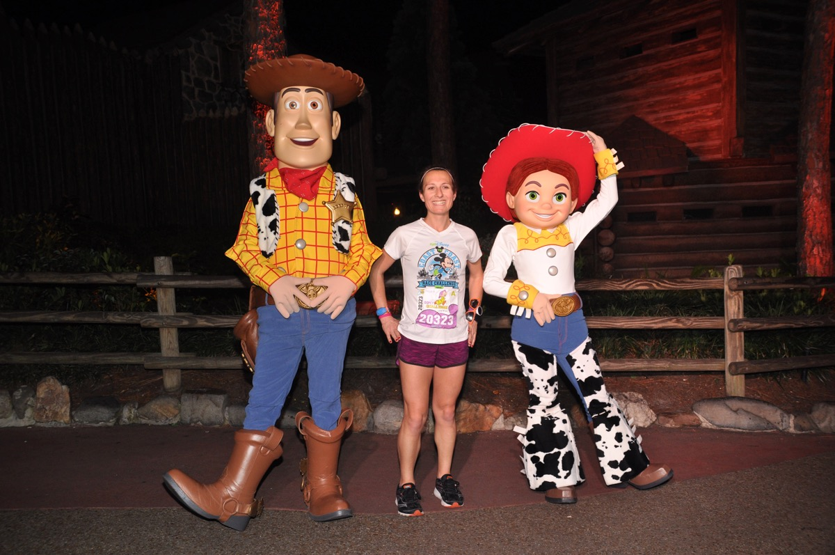 Amelia with Woody and Jessie