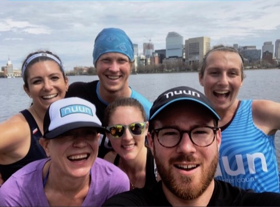Team Nuun shakeout run group pic